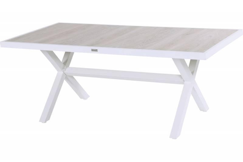 Canterbury (Cannes) ceramic table 186×96 – Royal White
