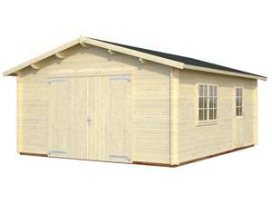 Bilde av Garasjebod Roger 23,9 m² med treport